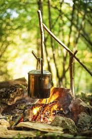 camping in the woods with a fire. Exellent Camping When Youu0027re Cooking While Camping Thereu0027s No Need To Rush Throughout Camping In The Woods With A Fire M