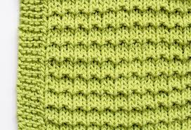 Free Knitting Patterns For Dishcloths Mesmerizing Free Knitting Patterns How To Make A Washcloth Mollie Makes