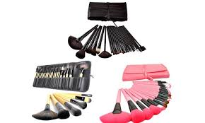 royal red make up professional artisan makeup brush set with case 24 piece professional artisan makeup