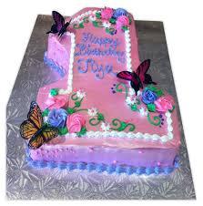1st Birthday Butterfly Cake Rashmis Bakery