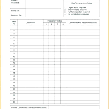 Home Inspection Report Template Free Format