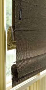 wood roman shades. Attico-roman-shades-woven-wood-roman-closed-4 Wood Roman Shades