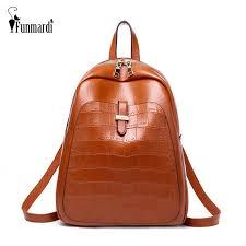 <b>FUNMARDI</b> Fashion Crocodile Pattern <b>Women</b> Backpack <b>Vintage</b> ...