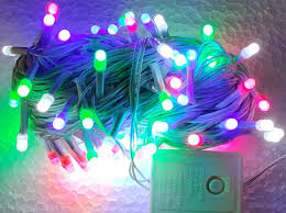 Led Serial Lights Lance Retail Lr Plastic Multi Mode Round Shape Serial Led Lights For Decoration 25m Multicolour