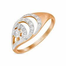 <b>Кольцо</b> c <b>бриллиантами</b>, артикул R4150-D-004-<b>11</b>, Золото 585 ...
