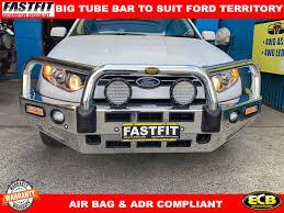 Ecb Bumper Lights Ecb Big Tube Bar With Fog Light Parking Sensor To Suit
