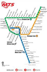 San Jose Light Rail Map San Diego Light Rail Map Map Of San Diego Light Rail