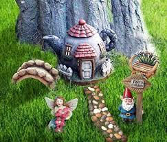 la jolie muse fairy garden gnome accessories kit hand painted miniature teapot fairy house figurine