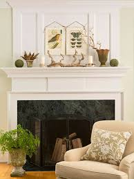 Natural Elements for Fabulous Fall Decor. Decorating Fireplace  MantelsFireplace ...