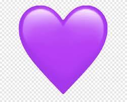 Etiqueta do símbolo do coração roxo de Emoji, Emoji, amor, roxo png   PNGEgg