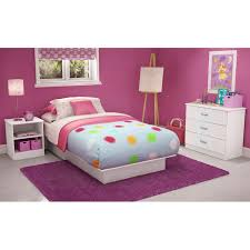 Libra White Bedroom Set with Twin Bed | DCG Stores