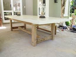 awesome concrete top dining table diy brilliant design concrete top modern furniture and diy outdoor concrete