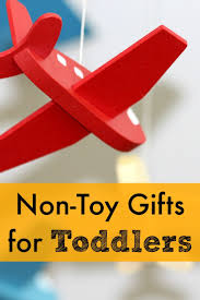 18 non toy gifts for toddlers