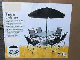 piece patio outdoor table chair dining