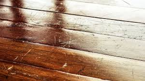 how to remove scratches from hardwood floors with a walnut