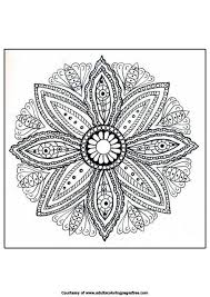 Small Picture Mandala Coloring Pages For Adults Printable Coloring Pages