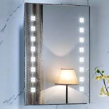 revlon lighted battery operated makeup mirror wall mounted lights light