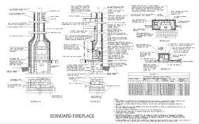 masonry fireplace dimensions design and ideas