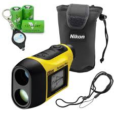 Lumintrail Keychain Light Nikon Forestry Pro Laser Rangefinder Waterproof Measuring Tool Bundle With 3 Viridian Cr2 Batteries And A Lumintrail Keychain Light