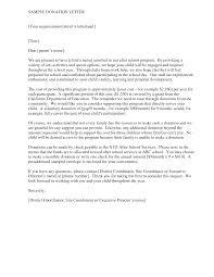 Donation Letter Samples Doc Imzadi Fragrances