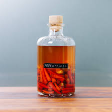 Decorative Pepper Bottles Southernstyle Vinegar Pepper Sauce Our Daily Brine 86
