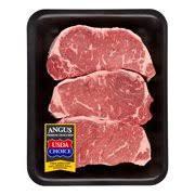 Sirloin Steak Price Beef Choice Angus New York Strip Steak Family Pack 1 53