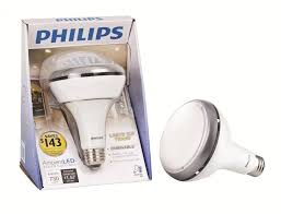 new philips ambientled tm dimmable 65w replacement br30 flood led light bulb bathroom lightingkitchen lightingtrack