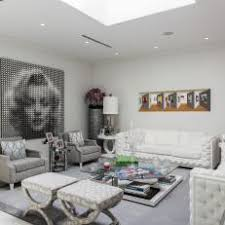 deco living room. Delighful Deco White And Gray Art Deco Living Room In T