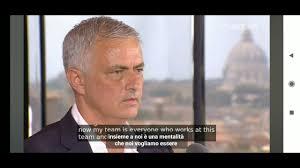Conferenza stampa presentazione José Mourinho nuovo allenatore della As  Roma Terrazza Caffarelli - YouTube