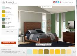 Behr Bedroom Colors The Best Free Virtual Paint Color Software Online 5 Options