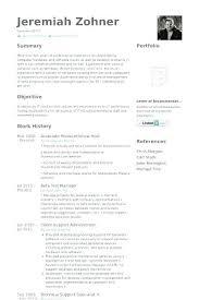 Resume Samples For Warehouse