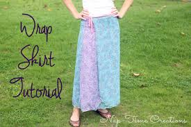 Wrap Skirt Pattern Awesome Wrap Skirt Tutorial Life Sew Savory