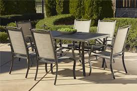 interior design launching patio table set garden oasis harrison 7 pc textured glass top dining