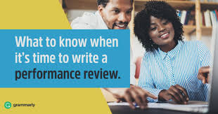 Performance Review Examples You Need To See Grammarly