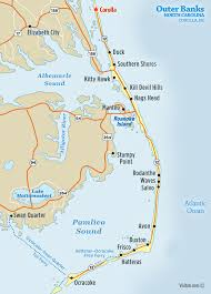 Map Of Corolla Nc Visit Outer Banks Obx Vacation Guide