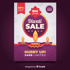 Free For Sale Flyer Template Free Colorful Diwali Sale Flyer Template With Flat Design