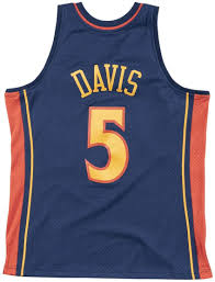 Mitchell & Ness Baron Davis #5 Golden State Warriors 2006-07 - Maglia NBA,  colore: Navy, S: Amazon.it: Sport e tempo libero