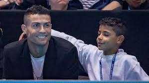 Cristiano Ronaldo will, dass sein Sohn Cristiano junior auch Fußballer wird
