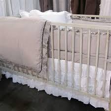 pom pom at home audrey crib skirt