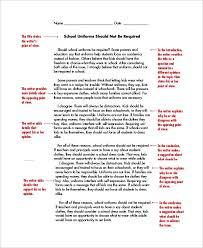 Example Of Example Essay Persuasive Essay Example 8 Samples In Word Pdf