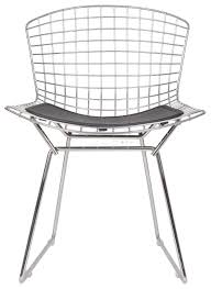 bertoia style chair. Home Decor : Harry Bertoia Style   Wire Dining Side Chair Swiveluk With K