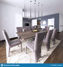 Light Wood Dining Table Chairs Luxurious Modern Dining Room Boasts A Wood Dining Table