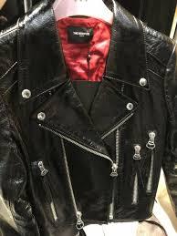 the kooples cur season patent black leather jacket rrp 695