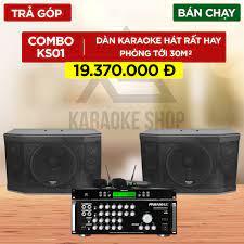 KS01 - Dàn karaoke gia đình Paramax giá tốt nhất. LH 0908 287 626