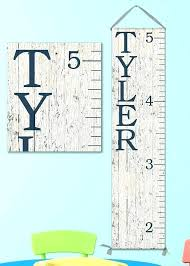Growth Chart Babies Canada Wood Personalized Growth Chart Tiendateam Co