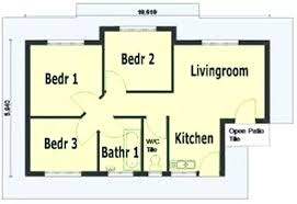 3 bedroom house plans designs in kenya