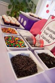 29 Awesome Cupcake Decorating Station Images Bar Drinks