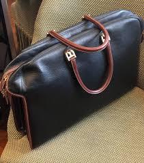 bally vintage black brown leather briefcase