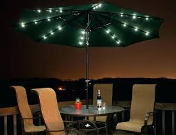 impressive outdoor umbrella with lights patio bed bath and beyond led image inspirations