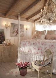 Shabby Chic Bedroom Chair Shabby Chic Bedrooms With Chandelier And Wall Sconces And Flower